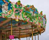 Carousel at Arromanche Beach