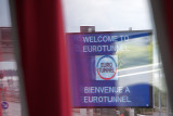 At the Eurotunnel