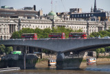 Buses on the Waterloo Bridge
