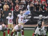 49ers at Raiders - 12/07/14
