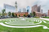 Labyrinth and skyline