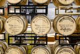 Barrels of bourbon