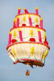 Cake in flight