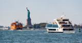 Around Miss Liberty