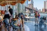 City carousel