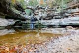 Upper Falls area