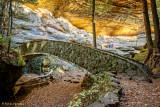 Cave and bridge