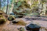 Rocks in a row