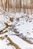 Stream and snow