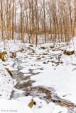 Flowing through snow