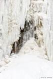 View through ice