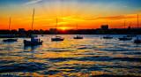 Sunset over the Hudson