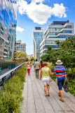 High Line scene