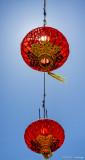 Lanterns and sky