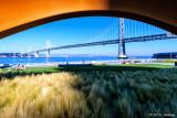 Bridge beneath bow