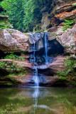 Cliffs around the falls