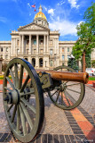 Cannon at the capitol