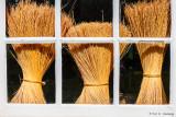 Bundled broomcorn