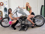 I Think The Girls Might Even Get This Bike Ready To Ride Today...
