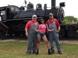 Railroad And Train