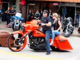 The Guys With Orange Bikes Get Some Pretty HOTTT Women...