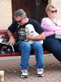 A Lot Of Dogs Showed Up For The Event Also...You'll See Some Real Biker Dogs Soon...