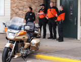 Now Why Do You Suppose Those 4 Cops Are Hanging Out By My Bike...???