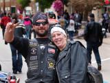 Happy Biker Couple...