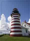 Quoddy Head Lighthouse, Lubec, Maine
