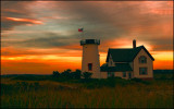 Stage Harbor Lighthouse, Chatham, MA  Cape Cod