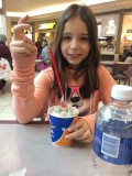 With Mommy at DQ