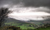 Low cloud rolling in over Glen Roy