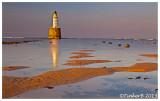 Rattray Head Lighthouse - As the sun goes down