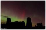 Aurora over Tomnaverie Recumbent Stones