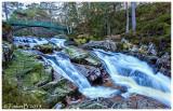 Garbh Allt Falls - near Invercauld Bridge