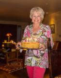 Birthday Cake at a Lynns