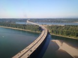 I - 205 crossing the Columbia River