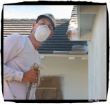 Andrew Crane Spray Painting My Home