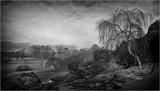 Dyffryn Gardens View (mono edit)