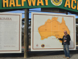 Halfway across the country, but only just starting the Nullarbor