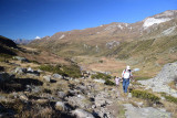 Way up to Binntalhütte