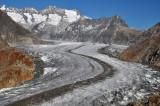 Aletsch Glacier close-up