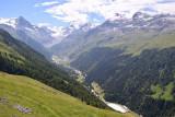 Zinal's valley