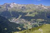 View towards Grimentz