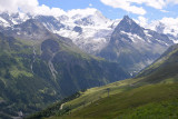 View on Besso from Sorebois