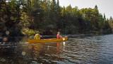 Going down the Kiamika river