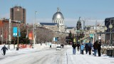 Old-Montreal - On a cold an windy day