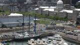Le Sedna IV amarré au Quai de l'Horloge dans le Vieux-Port de Montréal