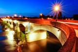 Amboise Bridge at Dusk
