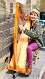 Orcadian Harpist